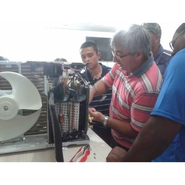 Curso de Instalação de Ar Condicionado no Jardim Rosinha - Curso de Instalação de Ar Condicionado em SP