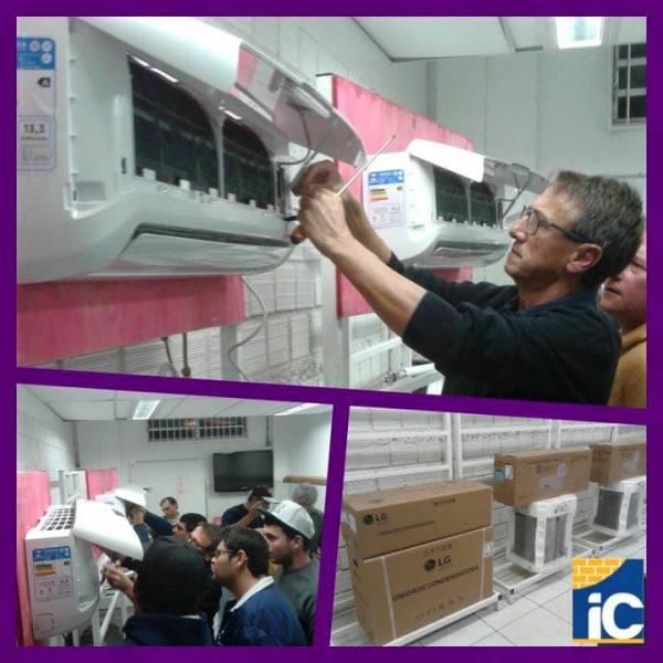 Curso de Instalação de Ar Condicionado Preço na Vila Stela - Curso de Instalação de Ar Condicionado em SP