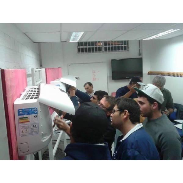 Curso de Instalação de Ar Condicionado Preços no Sítio das Francas - Curso de Instalação de Ar Condicionado em SP