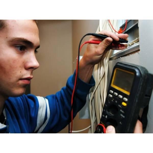 Curso de Instalador Elétrico com Preço Baixo no Educandário - Curso de Instalação Elétrica Predial