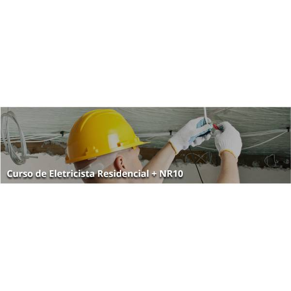 Curso de Instalador Elétrico Melhor Preço no Jardim Maria Augusta - Curso de Instalação Elétrica