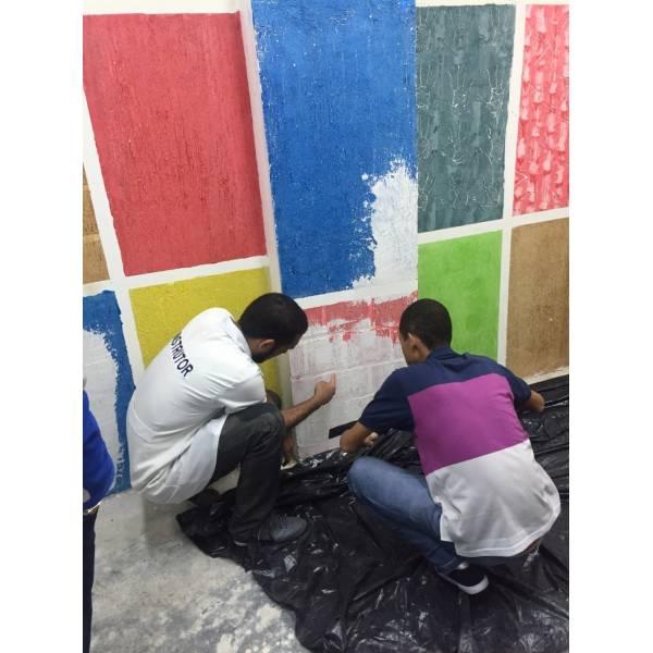 Curso para Pintores Valores no Alto da Riviera - Curso de Pintorem Santo André