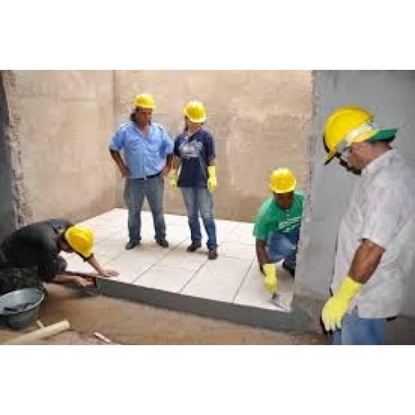 Curso Profissionalizante de Pedreiro Preço Acessível na Vila Matias - Curso Profissionalizante de Pedreiro