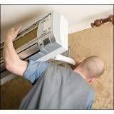 Curso de instalação de ar condicionado onde obter no Jardim Julieta