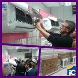 Curso de instalação de ar condicionado preço na Vila Stela