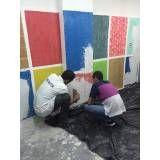 Curso para pintores valor na Vila Diva