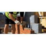 Curso profissionalizante de pedreiro valores acessíveis na Vila Invernada