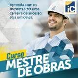 Cursos para mestres de obras valor baixo no Jardim Vieira de Carvalho